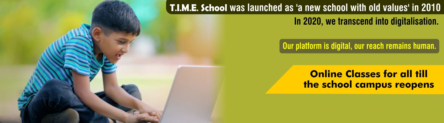 TIME school admissions open for academic year 2021-22
